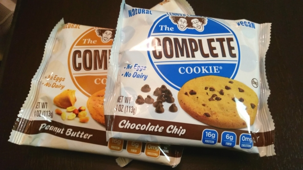 Lenny & Larry's Complete Cookies in Chocolate Chip and Peanut Butter