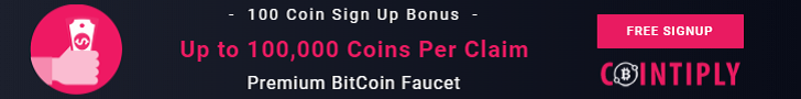 how to earn free bitcoin cointiply faucet